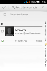 Alcatel OT-4015X Pop C1 - Contact, Appels, SMS/MMS - Envoyer un SMS - Étape 7