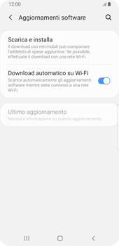 Samsung Galaxy S9 - Android Pie - Software - Installazione degli aggiornamenti software - Fase 6