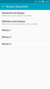 Samsung Galaxy S6 edge+ (G928F) - Réseau - Sélection manuelle du réseau - Étape 8