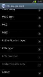 Samsung Galaxy S III - Internet and data roaming - Manual configuration - Step 12