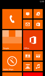 Nokia Lumia 820 / Lumia 920 - Getting started - Personalising your Start screen - Step 1