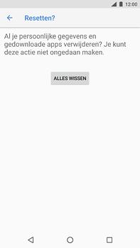 Nokia 6 (2018) - Toestel - Fabrieksinstellingen terugzetten - Stap 9
