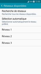 Samsung A300FU Galaxy A3 - Réseau - Sélection manuelle du réseau - Étape 8