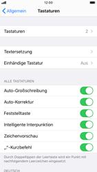 Apple iPhone SE (2020) - Startanleitung - So fügen Sie eine Tastatursprache hinzu - Schritt 5
