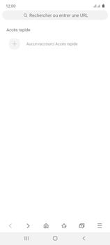 Samsung Galaxy Note 10 Lite - Internet et connexion - Naviguer sur internet - Étape 5