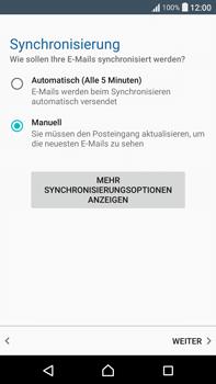 Sony F3211 Xperia XA Ultra - E-Mail - Konto einrichten - Schritt 19