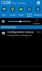 Samsung G388F Galaxy Xcover 3 - MMS - Automatic configuration - Step 3