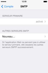 Apple iPhone 4 S iOS 7 - E-mail - Configuration manuelle - Étape 22