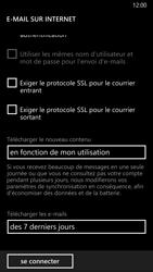 Nokia Lumia 930 - E-mail - configuration manuelle - Étape 18