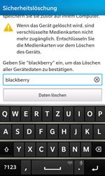 BlackBerry Z10 - Gerät - Zurücksetzen auf die Werkseinstellungen - Schritt 8