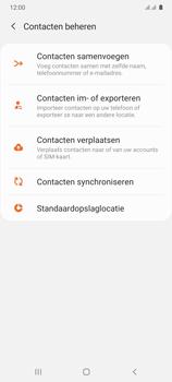Samsung Galaxy A41 Dual-SIM (SM-A415F) - Contacten en data - Contacten kopiëren van SIM naar toestel - Stap 6