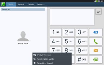 Samsung P5220 Galaxy Tab 3 10-1 LTE - Messagerie vocale - Configuration manuelle - Étape 5