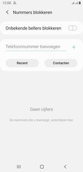Samsung galaxy-j6-sm-j600fn-ds-android-pie - Beveiliging en ouderlijk toezicht - Nummer blokkeren - Stap 7