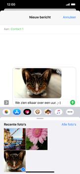 Apple iPhone XR - iOS 13 - MMS - afbeeldingen verzenden - Stap 14