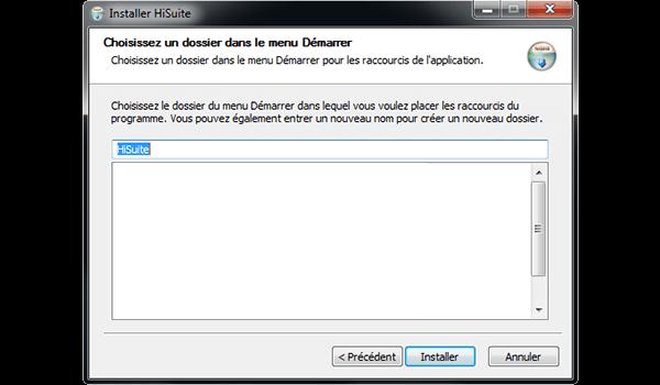 Huawei Mate 9 - Logiciels - Installation du logiciel de synchronisation PC - Étape 8