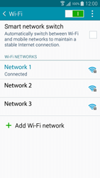 Samsung A500FU Galaxy A5 - Wi-Fi - Connect to Wi-Fi network - Step 8