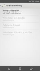Sony Xperia T3 - Anrufe - Rufumleitungen setzen und löschen - 8 / 9