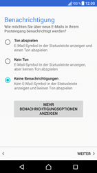 Sony Xperia X - E-Mail - Konto einrichten (outlook) - 1 / 1