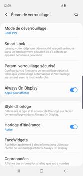 Samsung Galaxy S10 - Sécuriser votre mobile - Activer le code de verrouillage - Étape 13