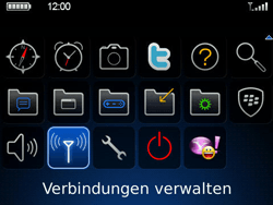 BlackBerry 9700 Bold - Netzwerk - Netzwerkeinstellungen ändern - Schritt 3