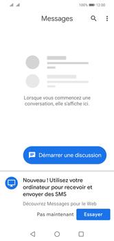 Huawei Y5 (2019) - MMS - envoi d'images - Étape 2