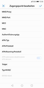 Huawei Mate 10 Lite - Internet - Manuelle Konfiguration - 13 / 26