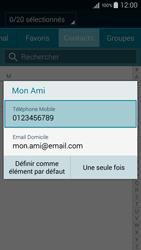 Samsung Galaxy A3 (A300FU) - Contact, Appels, SMS/MMS - Envoyer un SMS - Étape 8