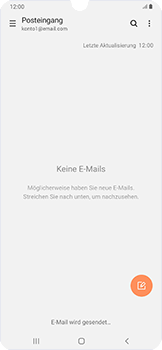 Samsung Galaxy A50 - E-Mail - E-Mail versenden - Schritt 21