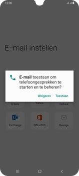 Samsung Galaxy A70 - E-mail - handmatig instellen (outlook) - Stap 10