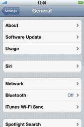 Apple iPhone 4 S - MMS - Manual configuration - Step 4