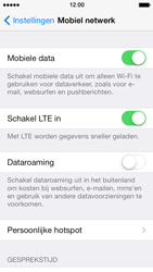 Apple iPhone 5s - Internet - aan- of uitzetten - Stap 4