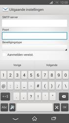 Sony D5803 Xperia Z3 Compact - E-mail - Account instellen (IMAP zonder SMTP-verificatie) - Stap 14