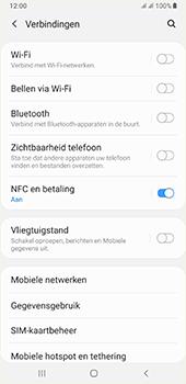 Samsung galaxy-a7-dual-sim-sm-a750fn-android-pie - Bluetooth - Aanzetten - Stap 4