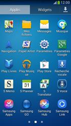 Samsung C105 Galaxy S IV Zoom LTE - Messagerie vocale - configuration manuelle - Étape 4