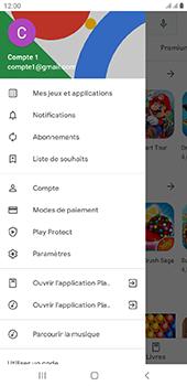 Samsung Galaxy J6 Plus - Applications - comment vérifier si des mises à jour sont disponibles pour l'appli - Étape 8