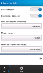 BlackBerry Z10 - Internet et roaming de données - Configuration manuelle - Étape 6