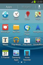 Samsung S6810P Galaxy Fame - Internet - Manual configuration - Step 18