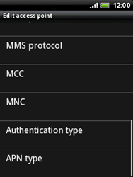 HTC A3333 Wildfire - Internet - Manual configuration - Step 10