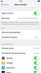 Apple iPhone 6s - iOS 11 - Internet - Activar o desactivar la conexión de datos - Paso 4