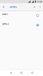 Nokia 1 - Internet - handmatig instellen - Stap 21