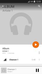 Motorola Moto E (1st Gen) (Lollipop) - Photos, vidéos, musique - Ecouter de la musique - Étape 10