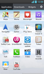 LG E460 Optimus L5 II - wifi - handmatig instellen - stap 3