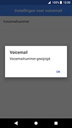 Sony Xperia XZ Premium - Android Oreo - Voicemail - handmatig instellen - Stap 12