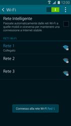 Samsung Galaxy S 5 - WiFi - Configurazione WiFi - Fase 8