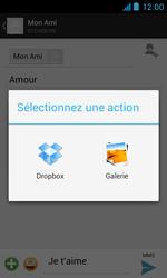 Bouygues Telecom Bs 402 - Contact, Appels, SMS/MMS - Envoyer un MMS - Étape 14