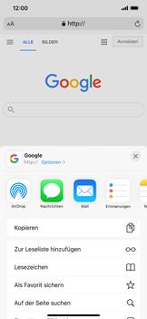 Apple iPhone XR - iOS 14 - Internet und Datenroaming - Verwenden des Internets - Schritt 17