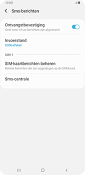 Samsung galaxy-s9-plus-sm-g965f-android-pie - SMS - SMS-centrale instellen - Stap 8