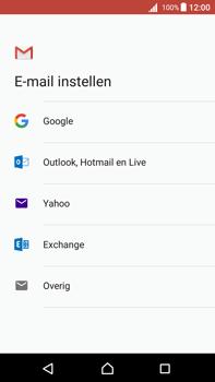 Sony Xperia Z5 Premium (E6853) - Android Nougat - E-mail - Handmatig instellen (gmail) - Stap 8