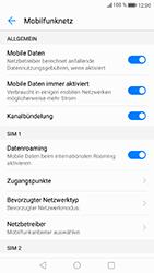 Huawei P8 Lite 2017 - Ausland - Auslandskosten vermeiden - Schritt 7