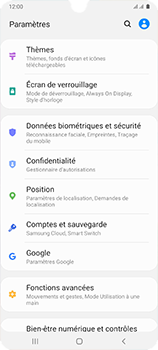Samsung Galaxy A41 - Sécuriser votre mobile - Personnaliser le code PIN de votre carte SIM - Étape 4